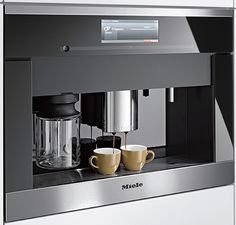 Looking for the best in wine, coffee and cigar preservation? Dacor, Liebherr and Miele produce some great products to be built into your kitchen