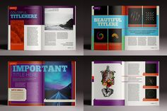 This Mighty Deal from Luuqas Design will get your graphic groove going! This InDesign bundle features 15 professional magazine and brochure templates, featuring more than 475 unique design pages. Print ready, most templates are available in A4 and Letter Size and are compatible with Adobe InDesign CS4 and up.Get all 15 magazine and brochure templates for only $24!
