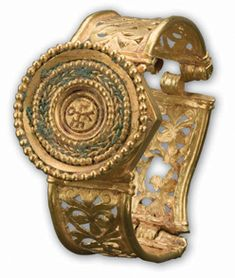 Byzantine Bracelet  Byzantium, late 6th to early 7th century C.E.  Gold  Private Collection