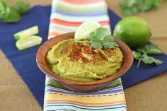 Cilantro Green Chile Lime Hummus 2