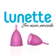 The NEW Lunette Cynthia cup!