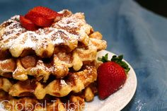 Liege Waffles - I do love when they show the recipe step by step sometimes...and not just many pics of the same recipe, in different light, position, etc.