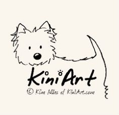 KiniArt™ Westie Terrier 'Best of' book. A great coffee table book for the KiniArt collector or dog lover in your life.