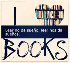 Libros, Lectura Frase