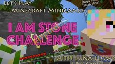 Let's Play Minecraft Minigames - The I Am Stone Challenge (Sky Wars on Hypixel) How To Play Minecraft, Lets Play, Broadway Shows, Challenges, War, Let It Be, Stone, Rocks, Rock