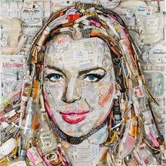 Jane Perkins – Recycled Art | Whitezine | Design Graphic & Photography Inspirations