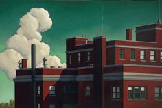 Kenton Nelson / Architectural / Staying Home