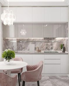 modern kitchen colorful cabinet cupboard design ideas wood cabinets white neutral beige shop room ideas gold modern contemporary small space 20 Inspiring Kitchen Cabinet Colors and Ideas That Will Blow You Away Kitchen Room Design, Luxury Kitchen Design, Home Decor Kitchen, Interior Design Kitchen, Kitchen Ideas, Kitchen Modern, Kitchen White, Modern Kitchen Designs, Dining Room Modern