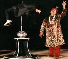 Ashok bhandari performing magic routine - Mythical India