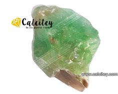 Green calcite is a grounding and centering stone that brings stability…
