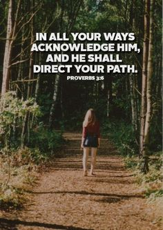 Love walking with God!