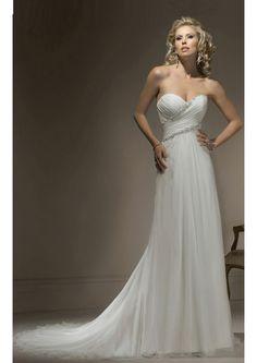Império Curação Cauda Média Cetim Renda Vestido de Noiva 2012 (3A00046)