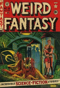 Cover for Weird Fantasy (1951 series) #8