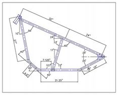 Details about Custom Chopper 300 Rigid Frame Plans