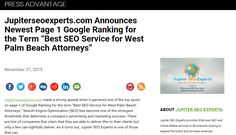 https://www.pressadvantage.com/story/5806-jupiterseoexperts-com-announces-newest-page-1-google-ranking-for-the-term-best-seo-service-for-west-p