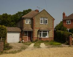 The original 1930s house before remodelling and extension to form a New England inspired home.