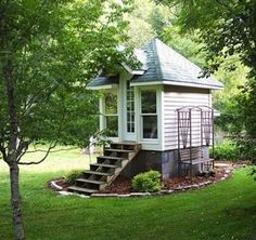 Make your shed a tiny house