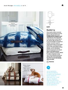 """I saw this in """"Good Things"""" in Martha Stewart Living November 2013."""