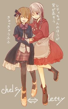 Alice Mare - Chelsy and Letty. They look cute!