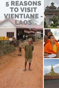 Vientiane, Laos is an up and coming tourist destination that is a ttracting travellers by the numbers, here are 5 reasons to visit the country's capital.