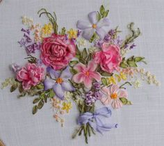 Beautiful ribbon work