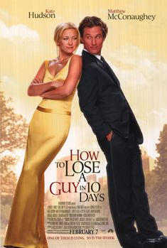 [ HOW TO LOSE A GUY IN 10 DAYS POSTER ]