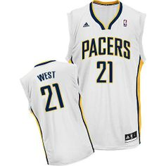 David West jersey-80% Off for Adidas David West Swingman Men s Jersey - NBA  Indiana Pacers  21 White Home from official Adidas NBA Indiana Pacers Shop. cdeb0d71f