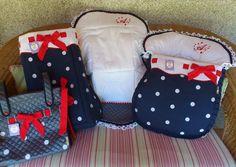 Principes y Princesas.: Colección Alondra: saco silla, saco grupo 0, bolso bebé...