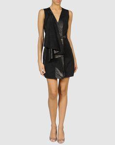 Catherine Malandrino Leather Vest Dress 10 $289   eBay