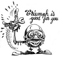 Dutch Vintage Motorcycle Association: Cartoons