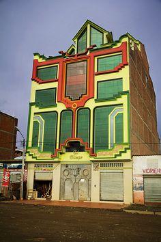 """Edificio """"El Tiempo"""". El Alto - Bolivia"""