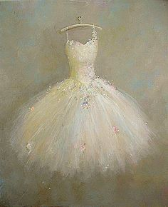 reserved for SE ballet Tutu painting Roses Dance of by 4WitsEnd This is so beautiful!