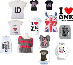"""ONE DIRECTION STUFF!!!!!!""i want all of it"