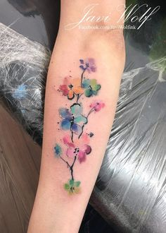 Javi Wolf - You are in the right place about Javi Wolf Tattoo Design And Style Galleries On The Net – Are The - Girly Tattoos, Mini Tattoos, Pretty Tattoos, Foot Tattoos, Forearm Tattoos, Cute Tattoos, Beautiful Tattoos, Flower Tattoos, New Tattoos