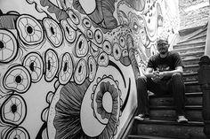 Giant Squid / Mural Art Converse Space Havre 64 on Behance
