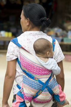 Mother with baby in Laos