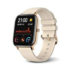 Amazfit GTS Smartwatch Fitness and Activities Tracker with Built-in Waterproof,Heart Rate, Music, Smart Notificatons (Blue) Bluetooth, Cool Watches, Sport Watches, Casual Watches, Smartwatch Ios, Apple Smartwatch, Fitness Tracker, Swiss Watches For Men, Fitbit