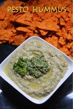 YUMMY TUMMY: Pesto Hummus Recipe