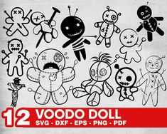 Fall Drawings, Tattoo Design Drawings, Pencil Art Drawings, Zombie Dolls, Voodoo Dolls, Doodle Diary, Doodle Wall, Ghost Cartoon, Halloween Vinyl