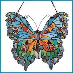 Stained Glass Patterns Butterfly Beauty Full Size | eBay