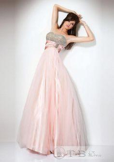 Brilliant A-Line Straps Floor-Length Empire Waistline Homecoming Dresses