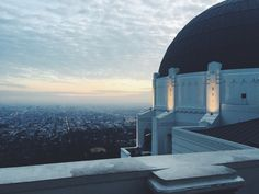 Los Angeles Observatory - a very cool place to hang out!