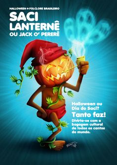 Folclore Brasileiro x Halloween