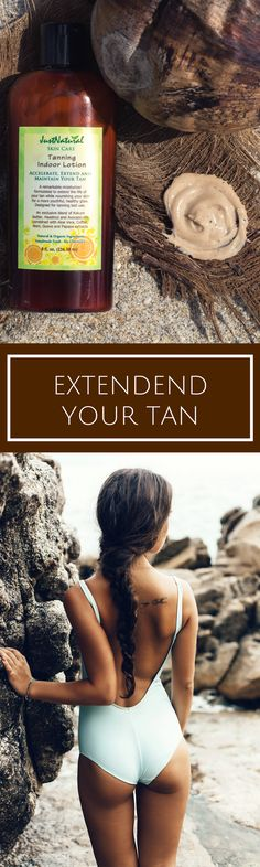 It was almost impossible to find and indoor tanning lotion that is chemical- free, alcohol-free and is made in the USA!! I have tanned for 3 days and my skin is looking nice, smooth and with a gorgeous brown tone. My friends can see the difference, I receive tons of compliments and I know they are real, because I can see how soft and velvety my skin feels. I think it has a very pleasant soft coffee smell. I love this lotion!!