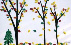 Artscuola: Lavori con materiali naturali: semi di zucca