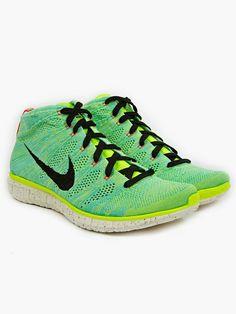 Nike Free Flyknit Chukka PR QS Green 8aafd0f75f4f9