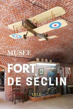 5 Raisons de Visiter le Fort de Seclin (près de Lille) Roubaix, Nord Pas De Calais, World War I, France Travel, Tops, Military Personnel, Tourism
