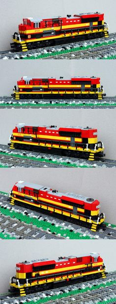 Kansas City Southern SD70ACe #LEGO #train #kansas