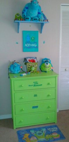 Monsters inc nursery!
