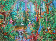 El color de la ayahuasca